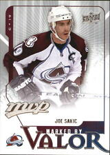2008-09 Upper Deck MVP Marked by Valor #MV2 Joe Sakic Avalanche
