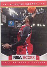 D. Jordan Center Los Angeles Clippers Panini Original #193 Single 10 2011-2012