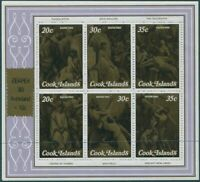 Cook Islands 1980 SG700 Zeapex Stamp Exhibition Charity MS MNH