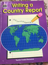 Writing a Country Report by Patty Carratello (1989, Trade Paperback, Student...