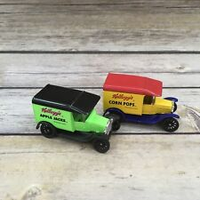 1989 Matchbox Kellogg's Corn Pops & Apple Jacks Truck Car 1921 Model T Ford
