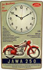 Jawa 250 Motorrad Oldtimer Wanduhr Geschenk Classic Bike