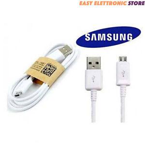 Cavo ORIGINALE  ECB-DU4AWC per SAMSUNG  MICRO USB per GALAXY S6 S7  TOP QUALITA'