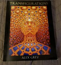 Transfigurations by Alex Grey (2004, Paperback) shelved but never Read OR used