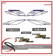 Yamaha Banshee Decals 2002 Blue Model Stickers Full Set Graphics For OEM Fenders