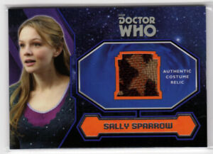 Topps Doctor Who 2015 Sally Sparrow's Coat Costume Card