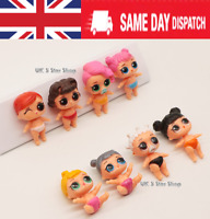 LOL DOLL SURPRISE Blind Mystery Figure Cake Topper Toy - Mini baby 8PCS