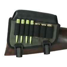 Tourbon Tactical Rifle& Shotgun Ammo Pouch Holder Cheek Rest Buttstock Right USA