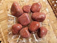 79-Galet d'aventurine rouge-Quartz fraise-Energie-Changement