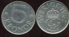 SUEDE  5 kronor 1987