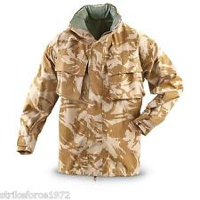 NEW - British Army Issue DESERT Camo Goretex Waterproof Jacket - Size 160/88