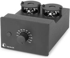 PRO-JECT TUBE BOX DS DC NERO PRE-PHONO MM/MC A VALVOLE SIGILLATO GARANZIA ITALIA