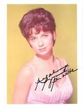 Suzanne Pleshette Autographed Vintage 8X10 Full Color Glossy Photo MintCondition