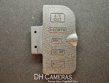 OEM Replacement part for NIKON D300S A/V OUT COVER HDMI DC IN CAP USB Rubber