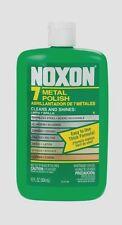 NOXON 7 Metal Polish Cleaner For Stainless Aluminum Chrome Brass Pewter 12oz NEW
