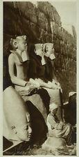 Photo Argentique Lehnert et Landrock Egypte Karnak Vers 1920