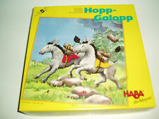"""Very Rare Vintage """"Hop-Galopp"""" game by Haba 1994. Made in W.Germany."""