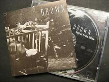 """DROWN """"HOLD ON TO THE HOLLOW"""" - CD"""