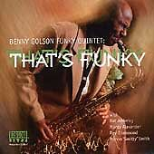 That's Funky by Benny Golson (CD, Jan-2000, Arkadia Jazz)