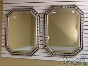 33508/33509: FRIEDMAN BROTHERS #6508 Octagon Silver MIRROR (1 or 2) ~ New