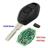 EWS Remote Key 3 Button 315/433MHz For  3 5 7 SERIES E38 E39 E46 Chip ID44 XS