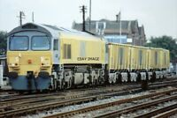 PHOTO  CLASS 59 LOCO 59103 ARC LIVERY AT EASTLEIGH 1991