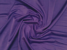 Purple Lycra/Spandex Stretch Dance/Dress/Sport Fabric 150cm Wide FREE P+P
