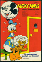 Micky Maus Nr.11 vom 17.3.1973 mit Fußball-Album + Bastelteil Bärental - Z0-1