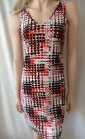 TEABERRY Red Spotted Dress Sz 12 BNWT