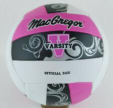 MacGregor Varsity 40-36396408 Volleyball - White, Pink, Black Swirl
