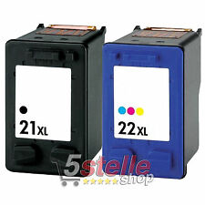 CARTUCCE 21 + 22 XL PER HP OFFICEJET 4315 4355 4625 J3680