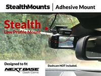 StealthMounts Low Profile Windscreen Mount fits Nextbase 512G 402G DashCam 512