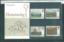 GB - PRESENTATION PACKS - 1979 - HORSE RACING - PAINTINGS