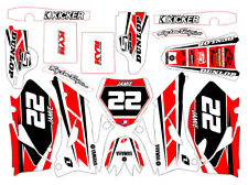 GRAPHICS KIT DecalS Stickers ALL YEARS DECO fits Yamaha YZF 450 2008 Yrs No OEM
