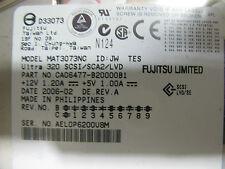 73gb SCSI SIC 80pin 10k RPM Fujitsu mat3073nc