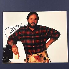 RICHARD KARN SIGNED 8x10 PHOTO HOME IMPROVEMENT AUTOGRAPHED TV STAR HOST RARE