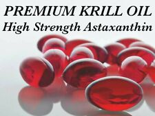 High Astaxanthin Krill Oil 360 PREMIUM STRENGTH & QUALITY Omega-3 EPA DHA