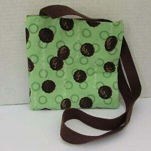 Girl Scouts Cookies Thin Mints Handmade Crossbody Bag