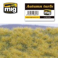 Ammo of MIG A.mig-8357 Plaque de Terrain Herbes Touffues Automne