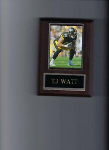 TJ WATT PLAQUE PITTSBURGH STEELERS FOOTBALL NFL
