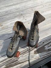 vintage roller skates black leather  Platinum Precision