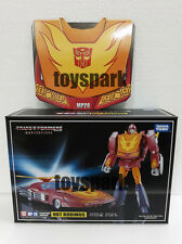 TAKARA TOMY Transformers Masterpiece MP-28 HOT ROD Rodimus action figure + COIN