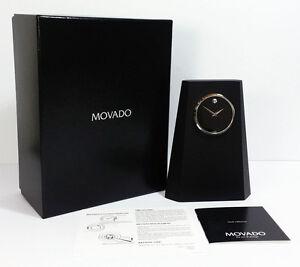 Movado Crystal Clock TBL000149M. A Brand-new, Unused.