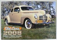 2008 OLD CARS COLLECTOR EDITION CALENDAR