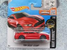 Hot Wheels 2016 #087/250 FORD SHELBY GT350R red Case N New Casting 2016