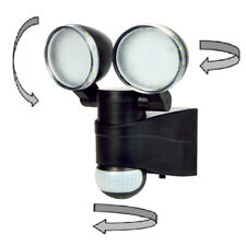 Double Adjustable Outdoor Motion Sensor Pir Security Bright Led Flood Lights