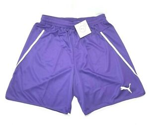 Puma Women's Size S Dry-Cell Soccer Jersey Activewear Shorts, Purple, White, NWT