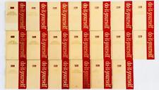 Vintage 1975 Complete Do It Yourself Handyman Encyclopedia - 20 Volume Set