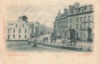 Vintage Postcard, Main Street, Portrush, Northern Ireland Early 20th Century.