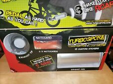 Turbospoke Bicycle Exhaust Sound System Motorcycle Sound Maker 3 Sounds NEW